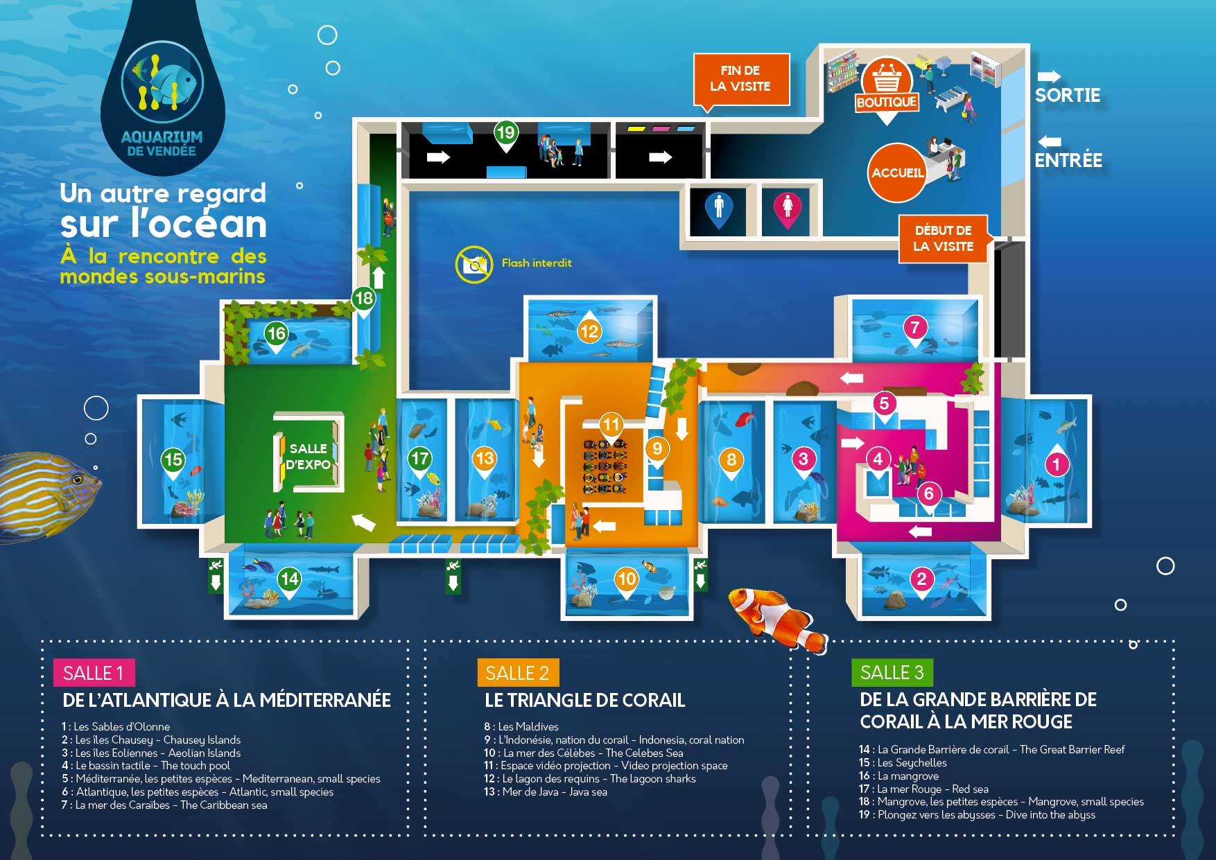 plan de l aquarium aquarium de vend 233 e