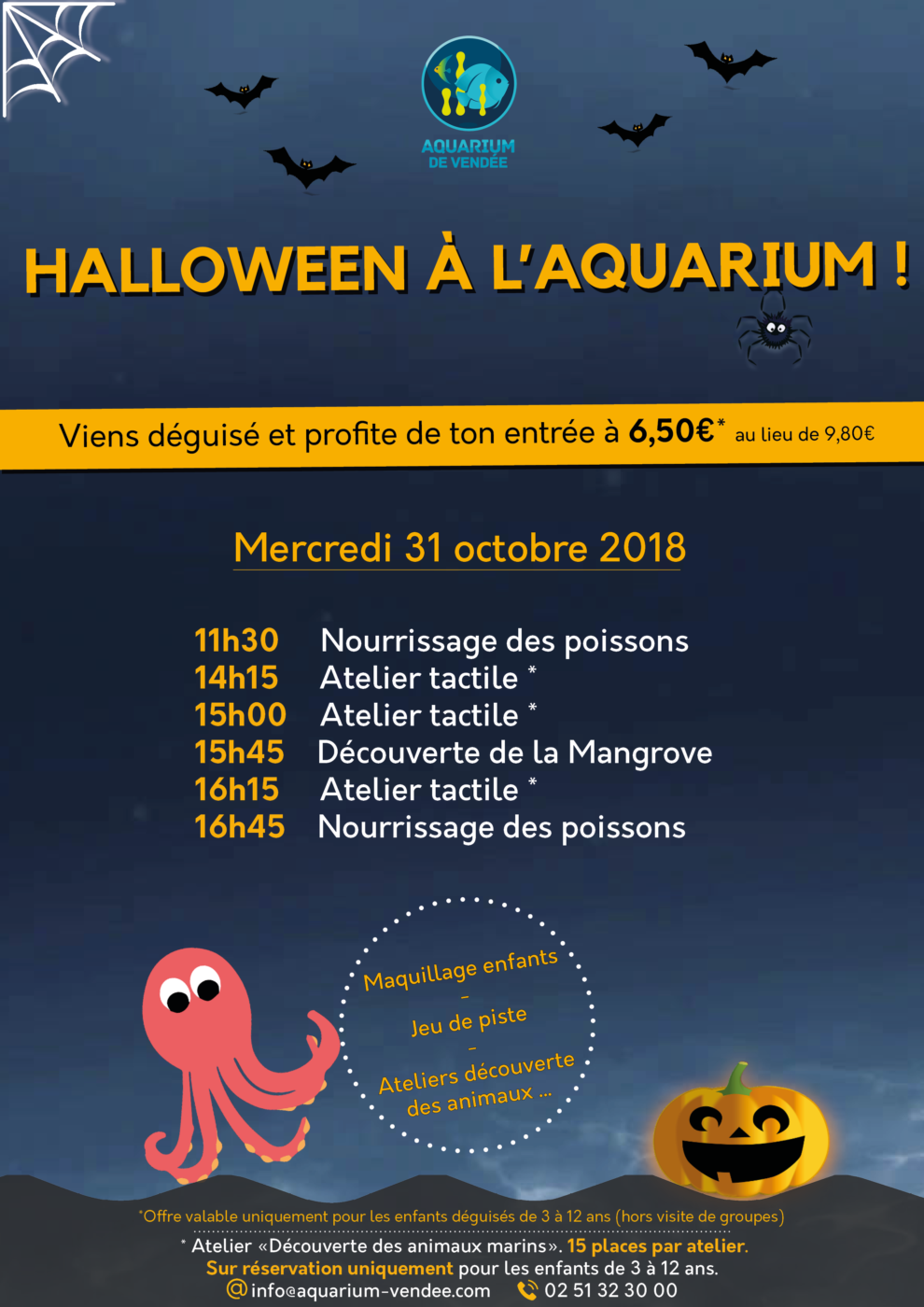 aquarium-talmont-planning-halloween-aquarium-de-vendee